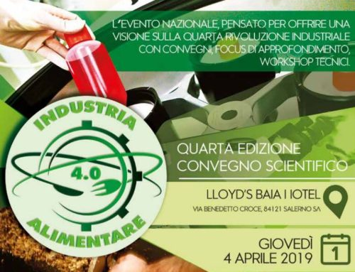 EVENTO: INDUSTRIA ALIMENTARE 4.0