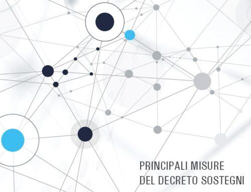 Principali misure del Decreto SOSTEGNI